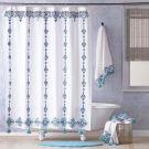 John Robshaw ^ Aloka Teal Shower Curtain (72x72