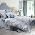 Dea ^ Angel Colonial Blue Pillowcases (Pair)