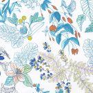 Yves Delorme ^ Flora Flat Sheets
