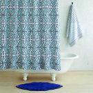 John Robshaw ^ Khoma Slate Shower Curtain (72x72