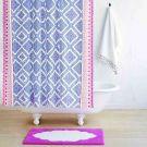 John Robshaw ^ Mitta Periwinkle Shower Curtain (72x72