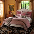 Alicia Adams Cyclamen ^ Pompom Reversible Throw