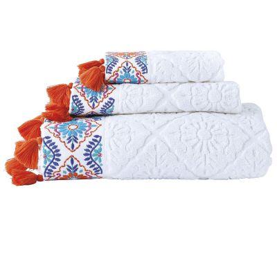 Aloka Coral Towel Collection