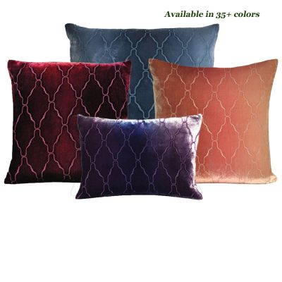 Arches Velvet Decorative Pillows
