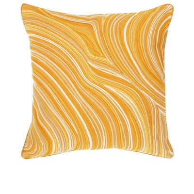 Beryl Ocre Decorative Pillow