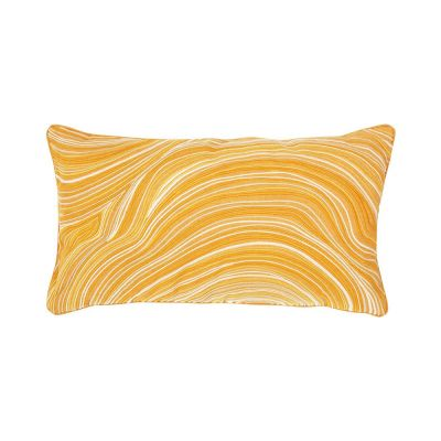 Beryl Ocre Rectangular Pillow
