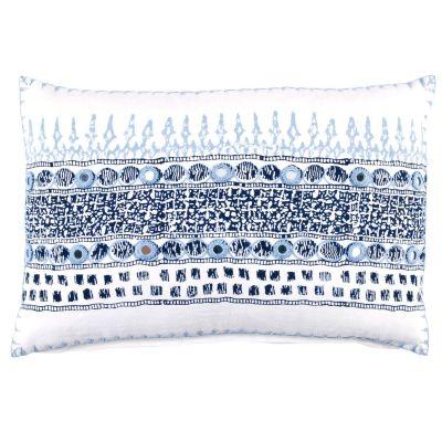 Primrose Indigo Boudoir Pillow