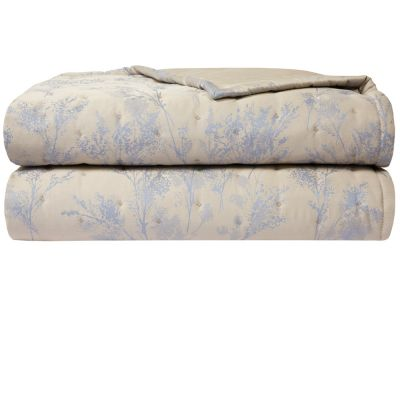 Bois Quilted Coverlet by Yves Delorme