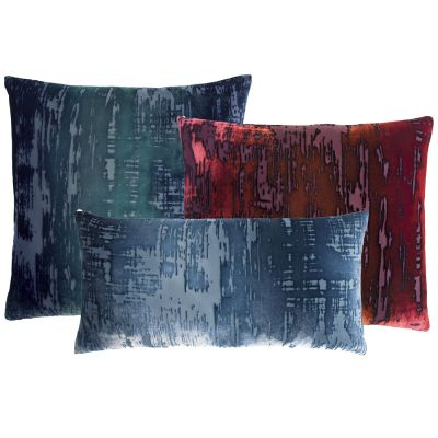 Brush Stroke Velvet Pillows