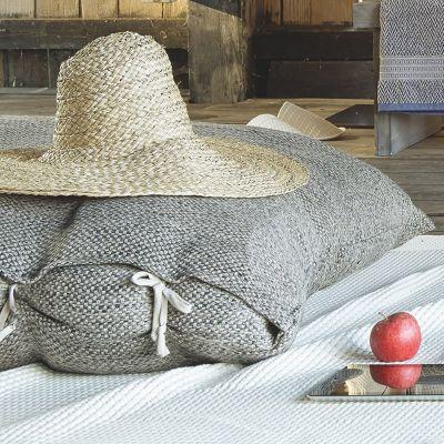 Anthrazit. Carasco Decorative Pillow