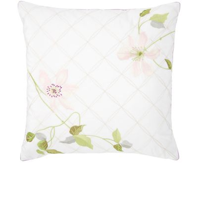 Clématis Decorative Pillow