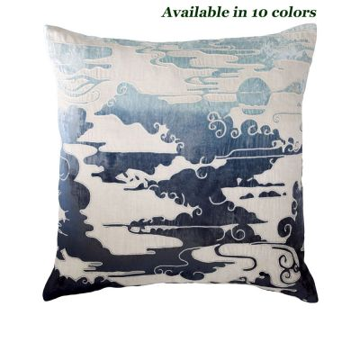 Clouds Appliquied Decorative Pillows