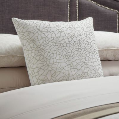 Cortona Decorative Pillow in Silver
