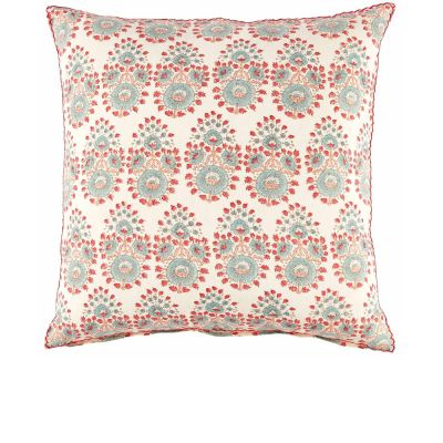 Diwan Lotus Decorative Pillow by John Robshaw