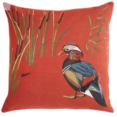 Edgar Orange Decorative Pillow by Iosis