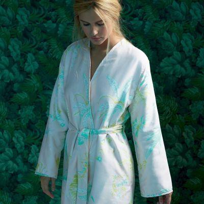 Été Kimono Bath Robe