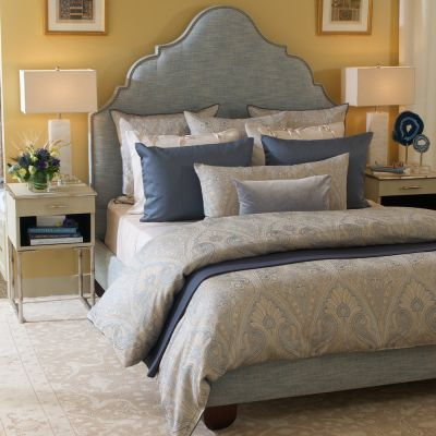 Erme Blue Duvet Cover & Shams
