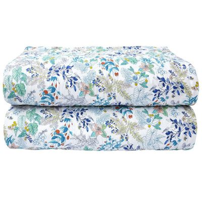 Flora Quilted Coverlet