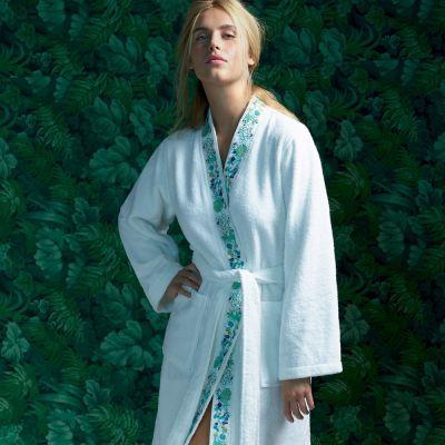 Flora Kimono Bath Robe.