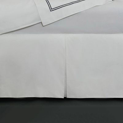 Grande Hotel Bed Skirt. White