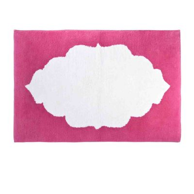 Pink Hamir Bath Rug.