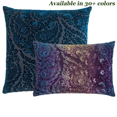 Henna Velvet Pillows by Kevin O'Brien