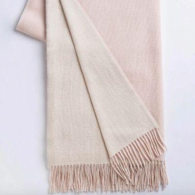 Ivory/ Pink Powder