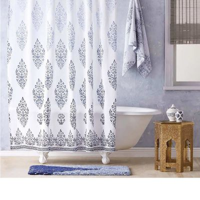 Jalati Indigo Shower Curtain