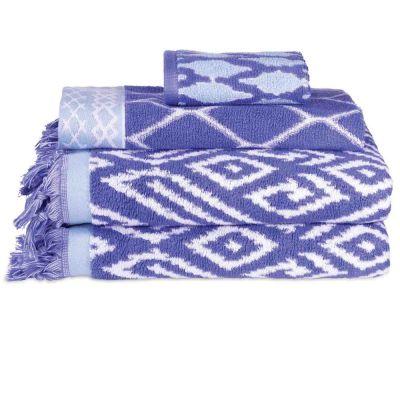 Kalasin Periwinkle Towels by John Robshaw