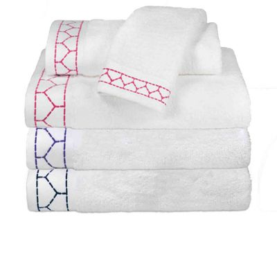 Linah Embroidered Towels
