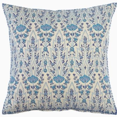 Lina Turquoise Decorative Pillow