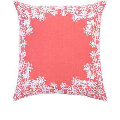 "Majjan Coral Decorative Pillow (20x20"")"