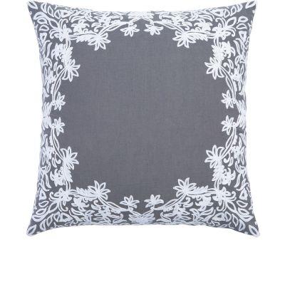"Majjan Gray Decorative Pillow (20X20"")"