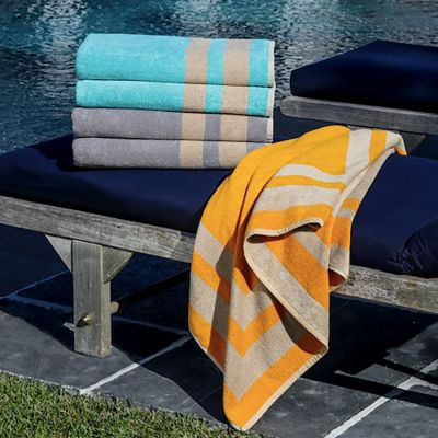 Maretta Towels Top to Bottom: Caribbean & Thistle