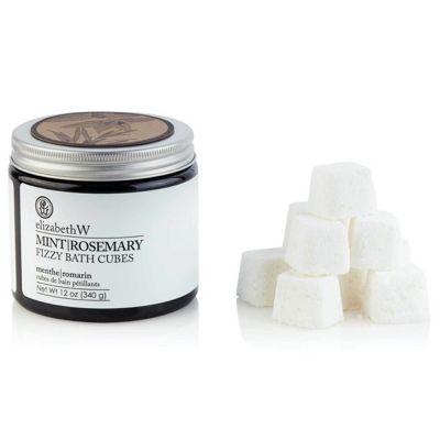 Mint Rosemary Fizzy Bath Cubes