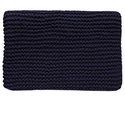Morgan Navy Throw