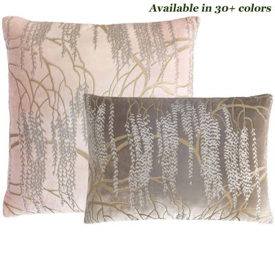 Willow Metallic Decorative Pillows