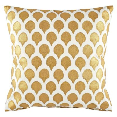 Nadole Gold Decorative Pillow