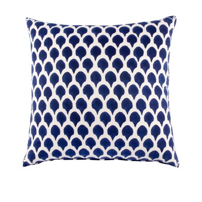 Nadole Indigo Euro Decorative Pillow