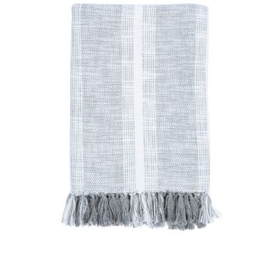 Niccan Gray Throw by John Robshaw