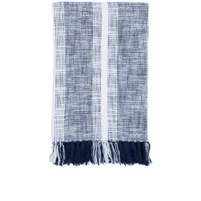 Niccan Indigo Throw by John Robshaw
