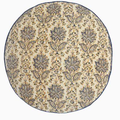 Ninna Lapis Round Decorative Pillow