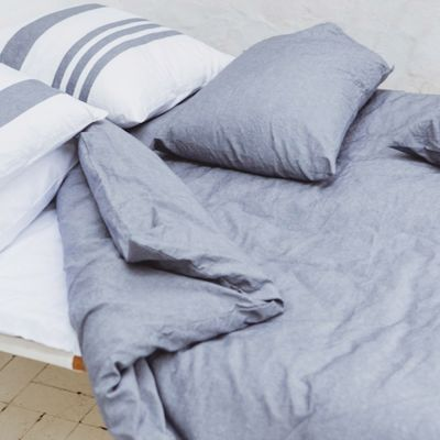 Ollies Point Duvet Cover (Shown with the Goodwin Shams)