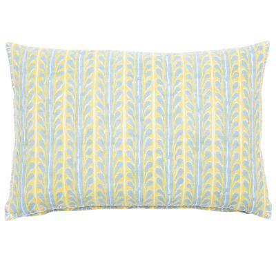 """Paccha Saffron Decorative Pillow (12x18"""")"""
