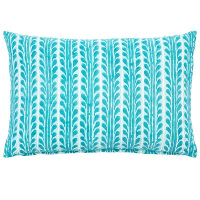 "Paccha Seaglass Pillow (12x18"")"