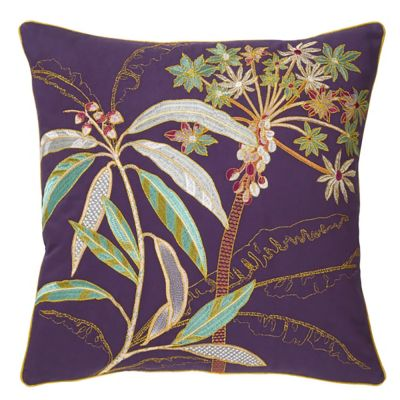 Palmea Decorative Pillow by Yves Delorme