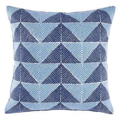 Peak Indigo Decorative Pillow