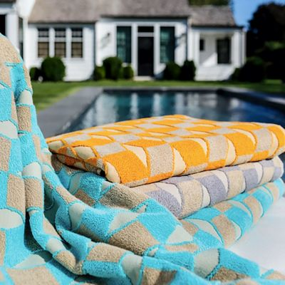 Ponza Beach Towels by Sferra