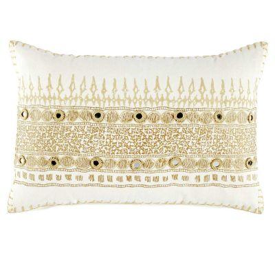 Primrose Gold Decorative Pillow