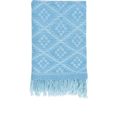 Ramati Light Indigo Throw